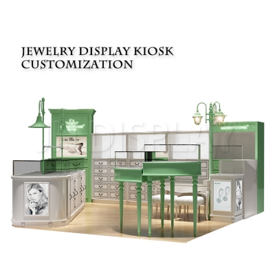 Jewelry Shop Display Kiosk Selling